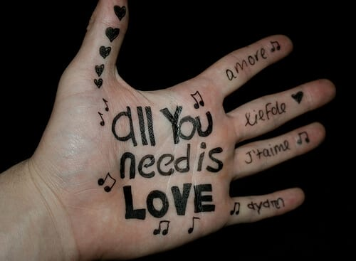 Armastus on see mida vajan